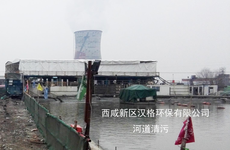 汉格环保压滤机河道清淤客户案例