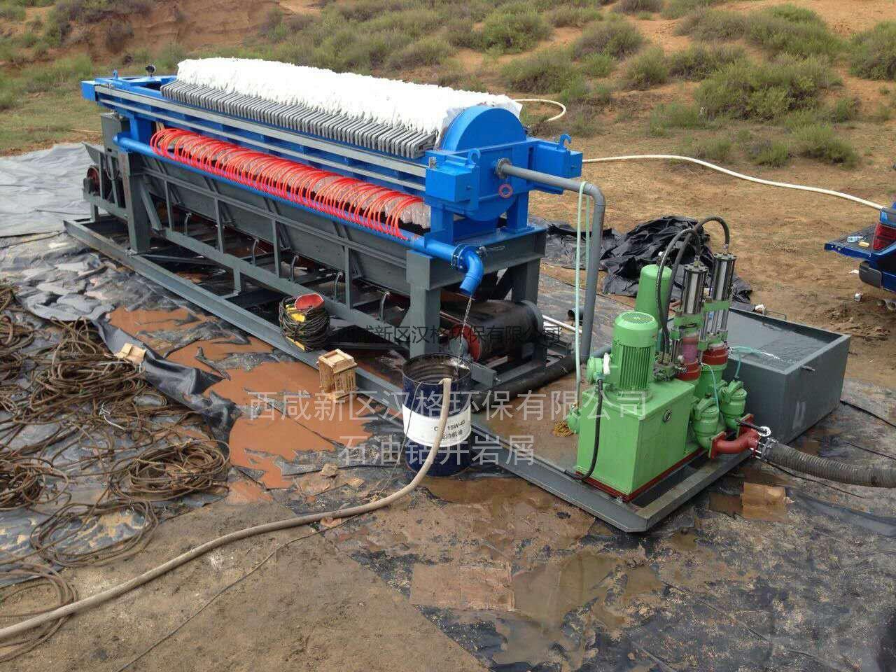 威尼斯官方网站压滤机石油行业案例图片