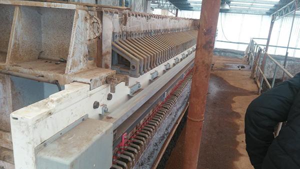 汉格环保压滤机在印染行业的应用