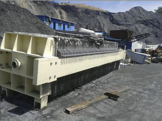 威尼斯官方网站压滤机洗煤行业案例图片