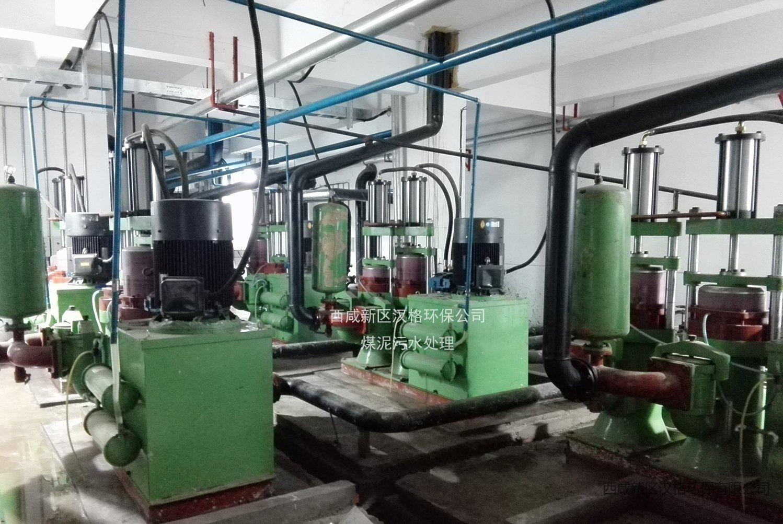 汉格环保压滤机专用泵洗煤行业应用