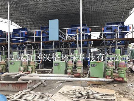 奥门金沙9159压滤机打桩污泥客户使用案例
