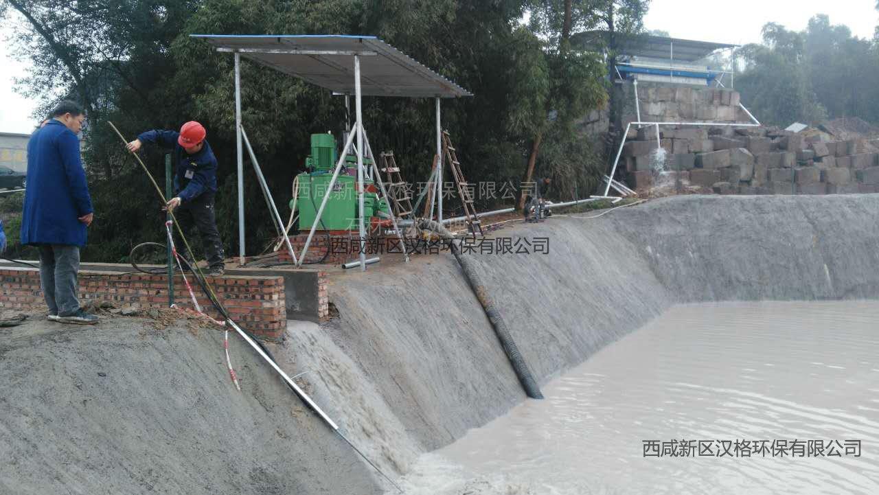 汉格环保压滤机石材污水处理客户适用案例